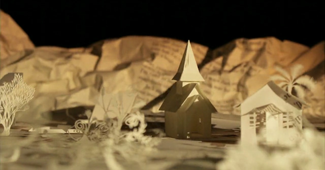 Going West 3  a stunning paper stop motion animation by Andersen M Studio