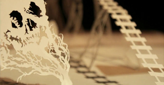 Going West 4  a stunning paper stop motion animation by Andersen M Studio