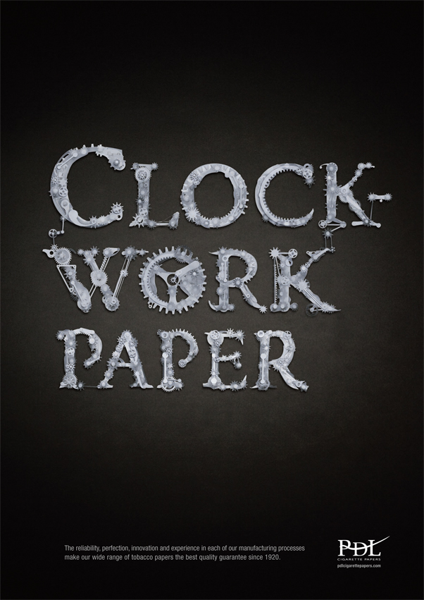 Clockwork Paper Poster