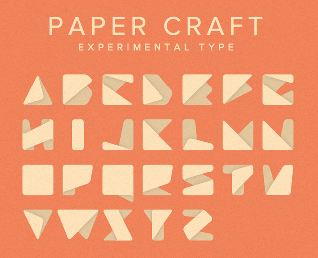 paper-craft-experimental-type