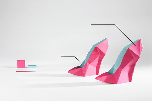 Origami Le design data by le creative sweatshop strictlypaper