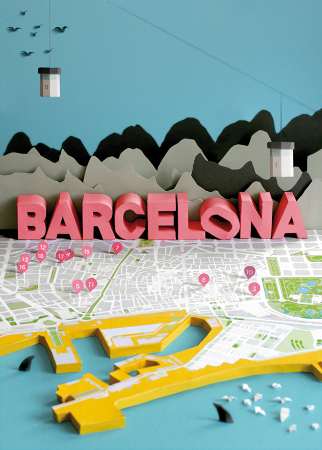 anna haerlin - barcelona map