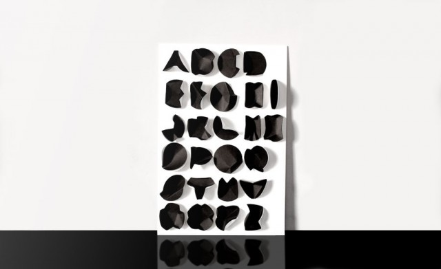Graphiatrist Folding Paper Typeface 1