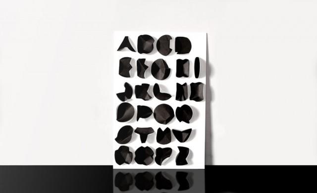 Graphiatrist Folding Paper Typeface 1
