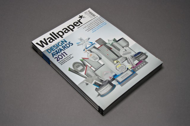 wallpaper* award issue 2011 cover - kyle bean