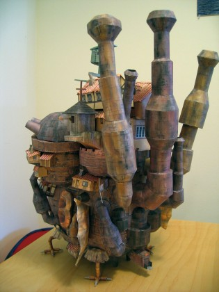 Howl&#039;s Moving Castle Papercraft - Ben Millet 3