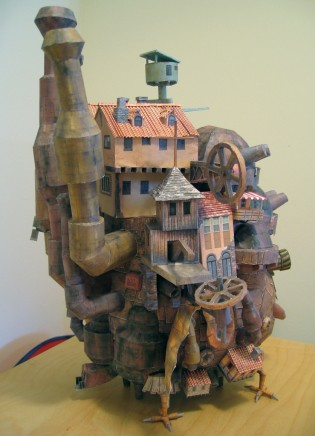 Howl&#039;s Moving Castle Papercraft - Ben Millet 4