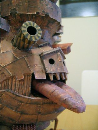Howl's Moving Castle Papercraft - Ben Millet 6 - detail