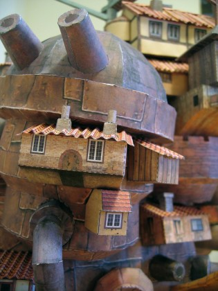 Howl's Moving Castle Papercraft - Ben Millet 9 - detail