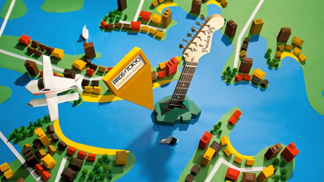 Mastercard Priceless Paper Craft Music Campaign