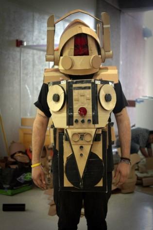 Corrugated Youth: A Cardboard Exhibition with Kiel Johnson