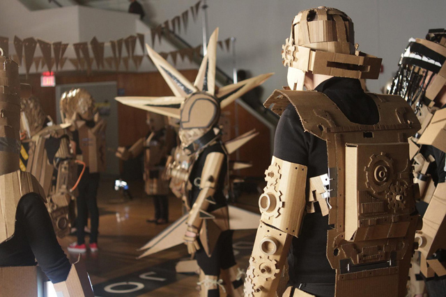 Corrugated Youth: A Cardboard Exhibition with Kiel Johnson