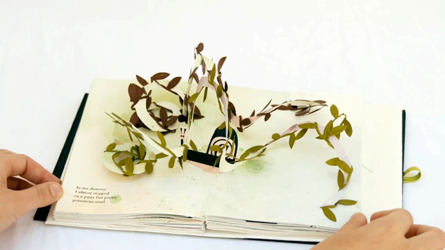 Bodoni Bedlam: A Pop-Up Book by Victoria Macey | strictlypaper