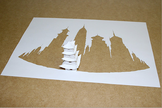 Paper Sculptures by Peter Callesen
