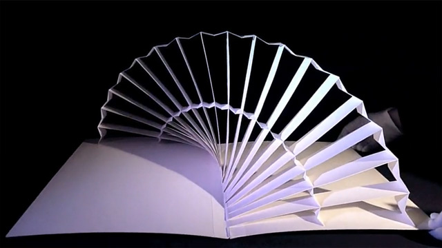 Peter Dahmen - Six Paper Sculptures 1