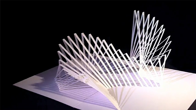Peter Dahmen - Six Paper Sculptures 2