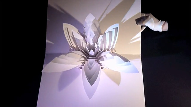 Peter Dahmen - Six Paper Sculptures 3