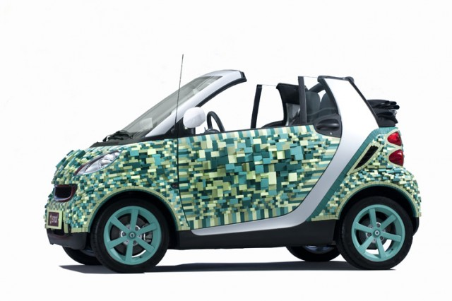 Sarah Illenberger - Cartondruck - Smart - Art Car 4