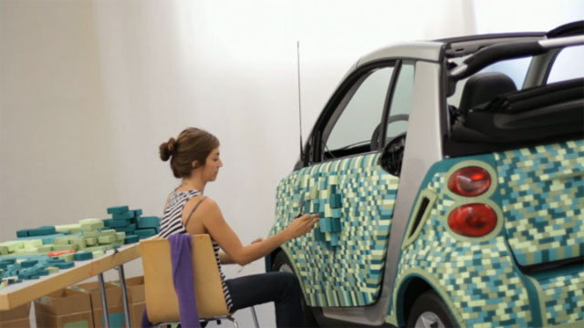 Sarah Illenberger - Cartondruck - Smart - Art Car 9