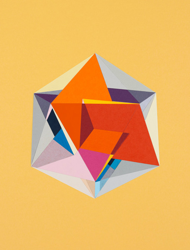 strictlypaper - golden ratio - calvin klein - icosahedron 1