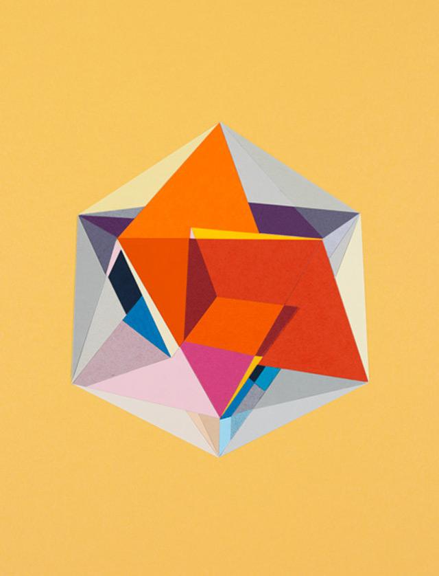 strictlypaper - golden ratio - calvin klein - icosahedron 1