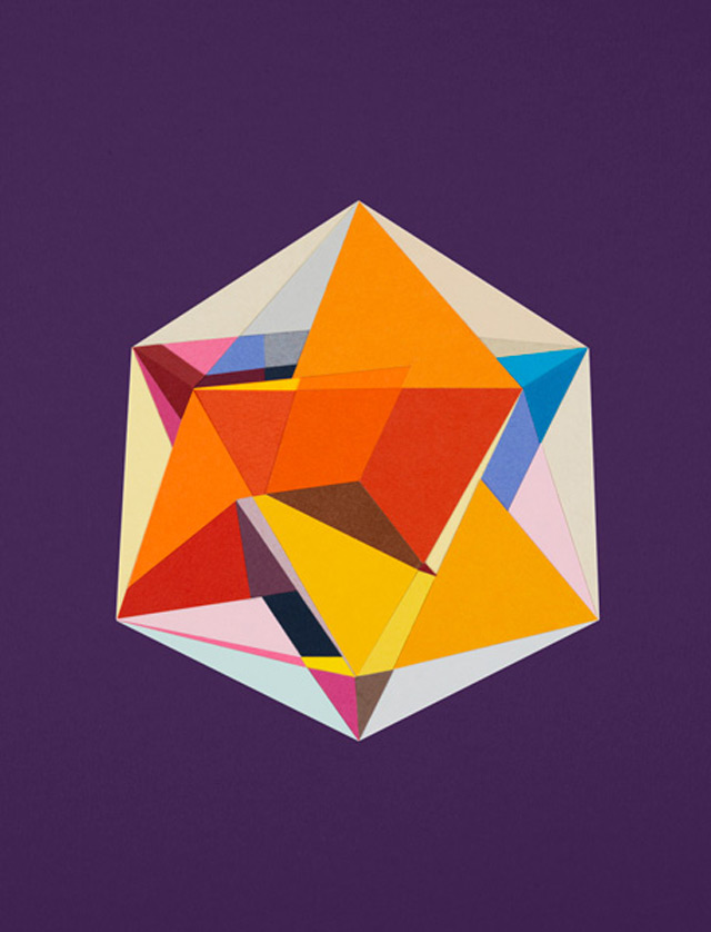 strictlypaper - golden ratio - calvin klein - Icosahedron 2