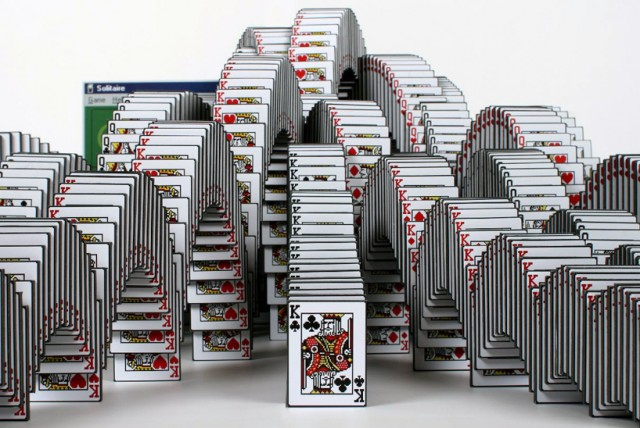 Skrekkøgle: Solitaire Win Sculpture