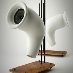 TAU: Speakers Made From Recycled Paper