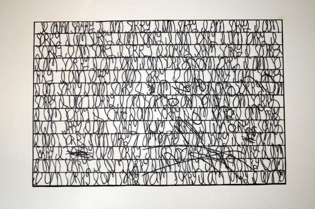 Paper Cut Letters by Annie Vought