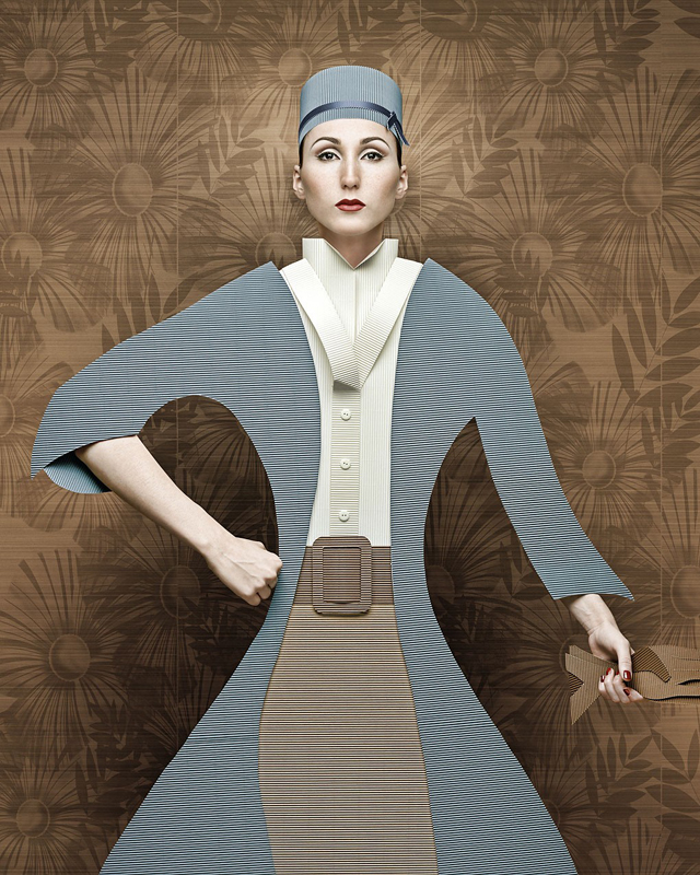 Cardboard Ladies by Christian Tagliavini