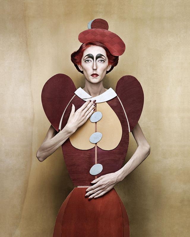 Cardboard Ladies by Christian Tagliavini Cubist