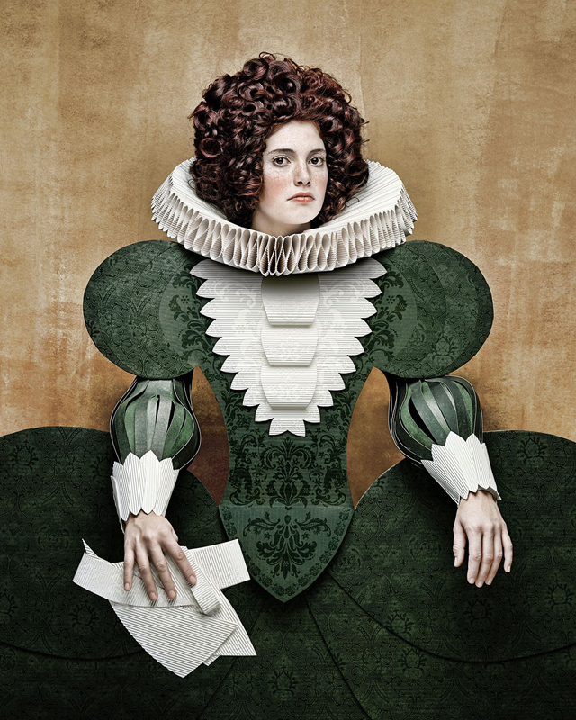 Cardboard Ladies by Christian Tagliavini Renaissance