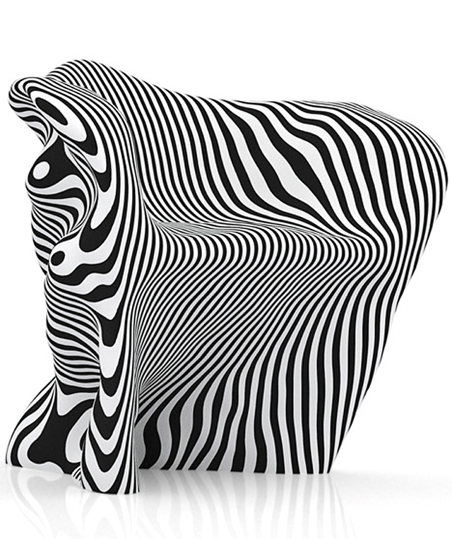 Recyclable Paper Chair by Mathias Bengtsson