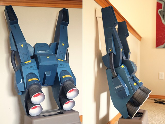 Strictlypaper - 7ft Gundam Papercraft - Visualspicer - Taras Lesko - Beyond The Paper 2