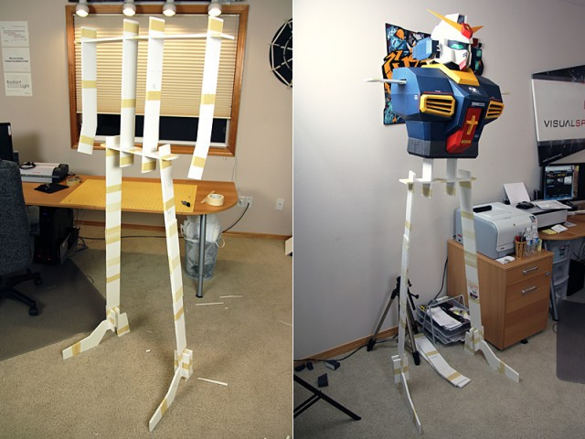 Strictlypaper - 7ft Gundam Papercraft - Visualspicer - Taras Lesko - Beyond The Paper 4