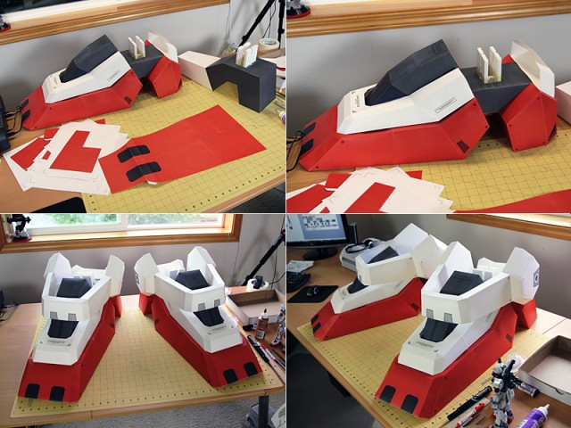 Strictlypaper - 7ft Gundam Papercraft - Visualspicer - Taras Lesko - Beyond The Paper 5