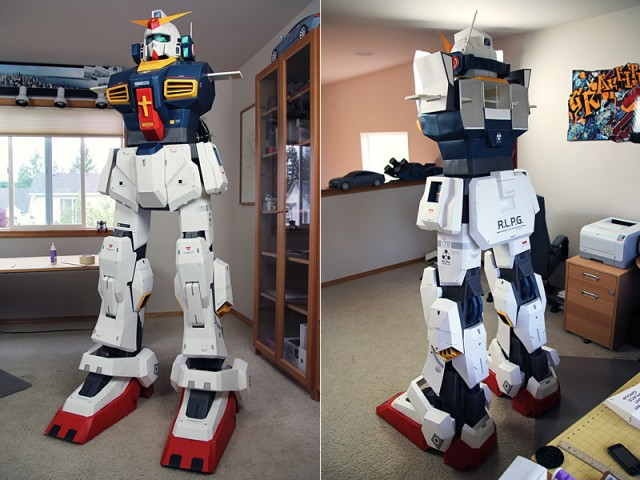 Strictlypaper - 7ft Gundam Papercraft - Visualspicer - Taras Lesko - Beyond The Paper 7