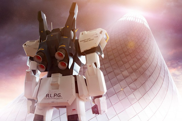 Strictlypaper - 7ft Gundam Papercraft - Visualspicer - Taras Lesko - Fantasy 4