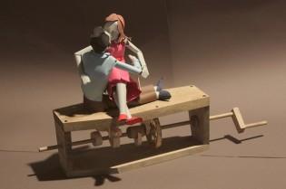 Bunraku Love Couple Automaton