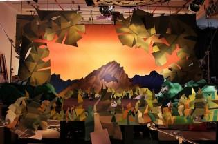 Strictlypaper - Bunraku Opening Titles - Making Of -
