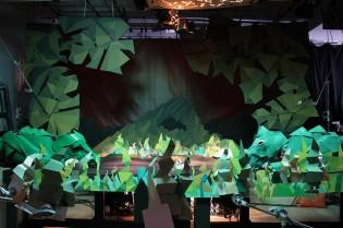 Strictlypaper - Bunraku Opening Titles - Making Of - 8