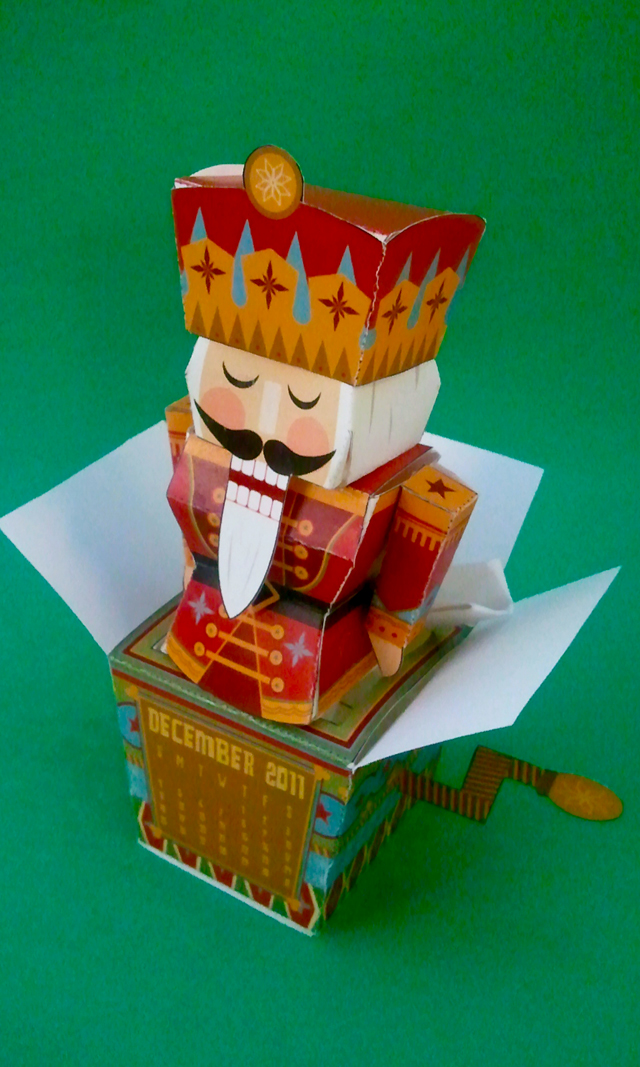 Nutcracker Calendar for December