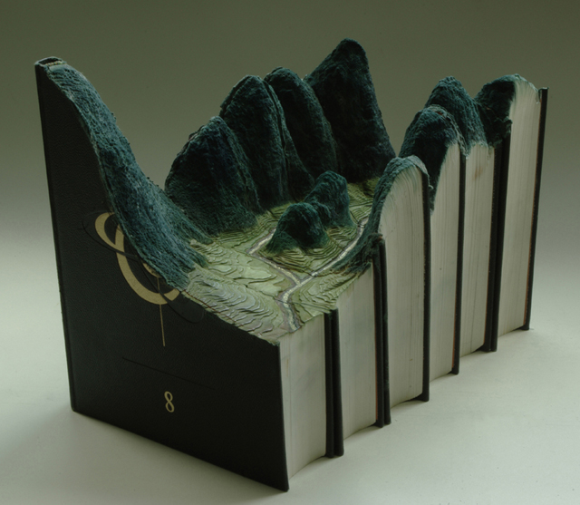 Stunning Book Sculptures by Guy Laramee