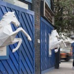 Dry The River Horses: 3D Paper Poster