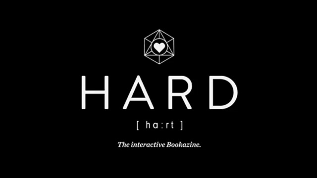 Hard The Interactive Bookazine by Ruben Scupin