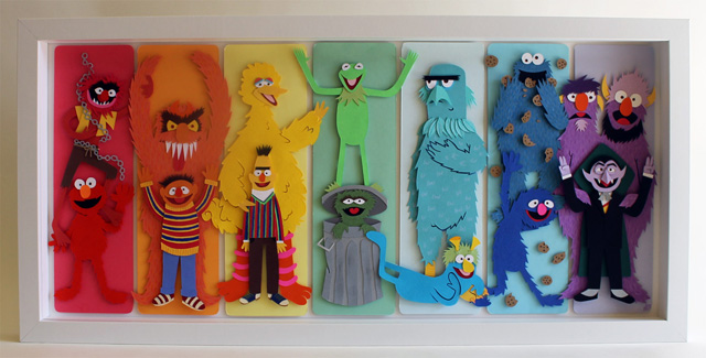 Muppet Spectrum by Jared Andrew Schorr
