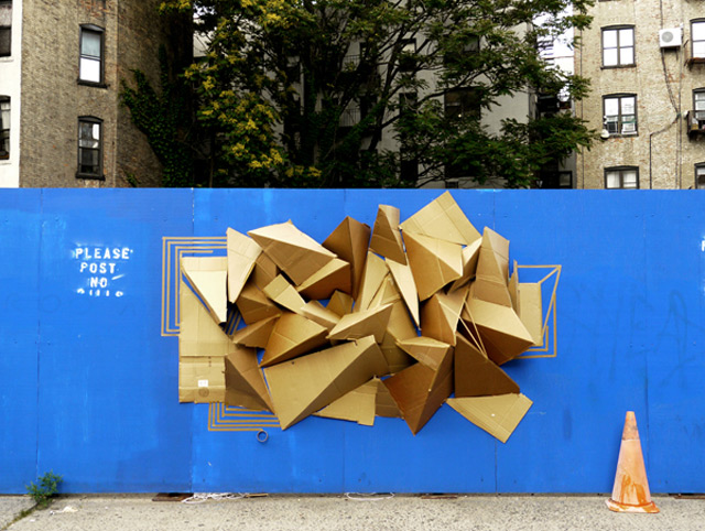 Clemens Behr - NYC 2011 - Blue Wall