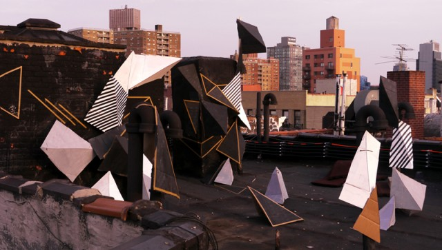 Clemens Behr - NYC 2011 - Roof Sunset