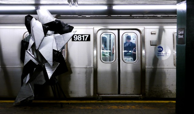Clemens Behr - NYC 2011 - Subway