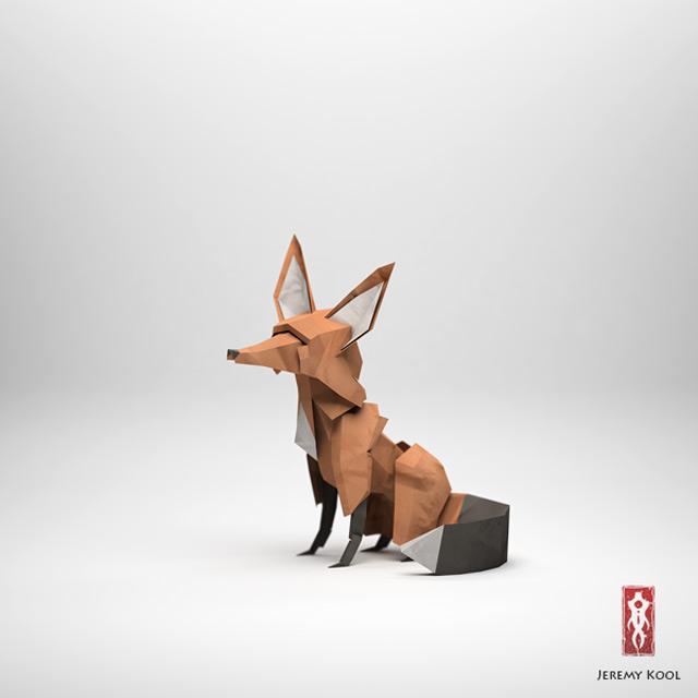 Jeremy Kool - The Paper Fox